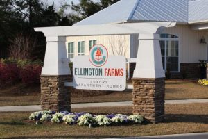 Ellington Farms Sign