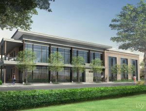Ashes Drive Office Building Rendering