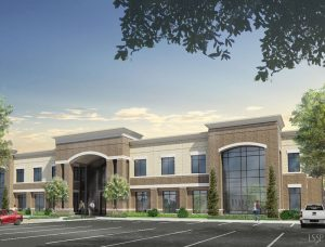 Rendering of new TowneBank Office Building