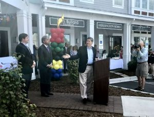 Photo of Dungannon Village Ribbon Cutting Ceremony