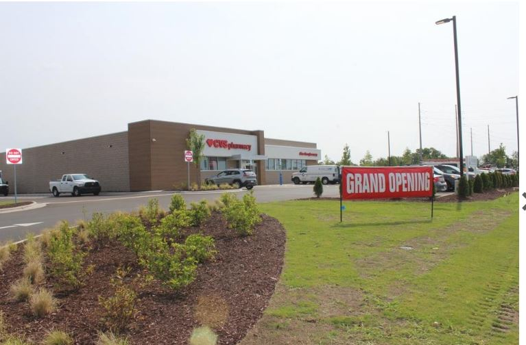 A CVS Pharmacy recently moved from its location in the Live Oak Shopping Center on Long Beach Road to an outparcel of the Southport Crossings shopping center. The store opened Sunday. [RENEE SPENCER/STARNEWS]