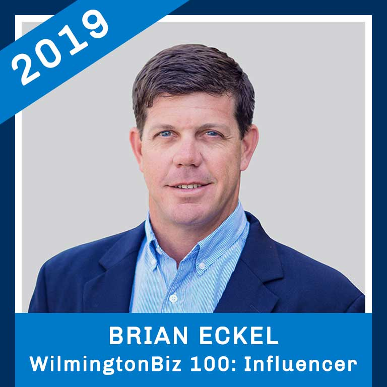 2019 WilmingtonBiz 100 Influencer Brian Eckel Headshot