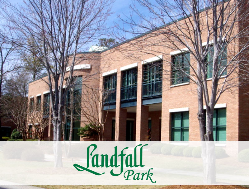 Street view of Landfall Park North