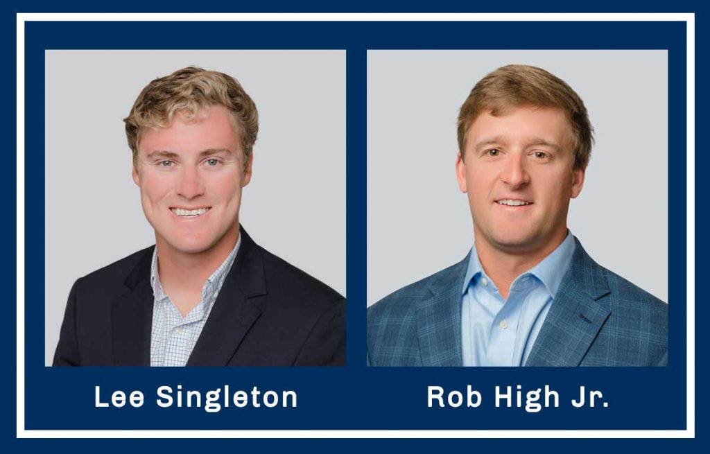 Photos of Associate Brokers Lee Singleton & Rob High