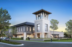 Rendering of Building 1 in the next phase of Autumn Hall
